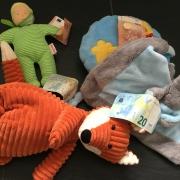 Spielzeug und Geld